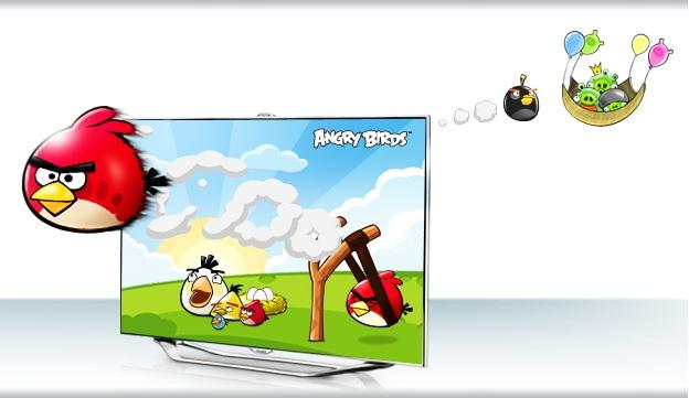 angry birds для телевизора samsung smart tv