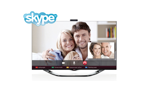 skype smart tv lg